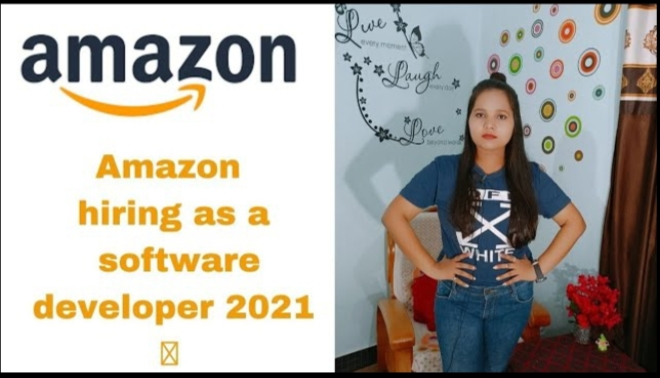 Amazon hiring 2021, 2022.. Batches 🎉   3 Lakh + Package