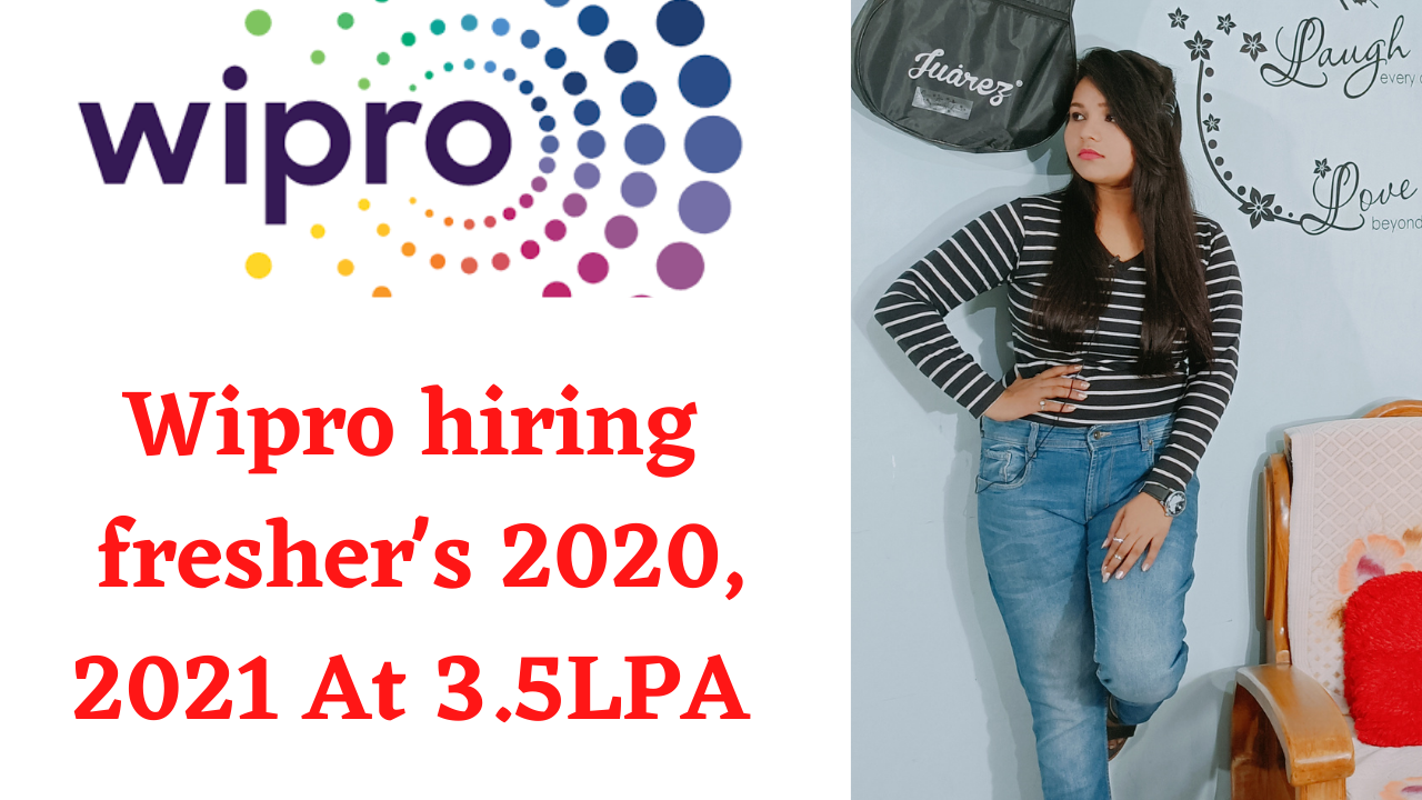 Wipro Elite Off Campus Hiring for 2020 & 2021 Graduate   Apply Now   CS , IT & Circuital Branch